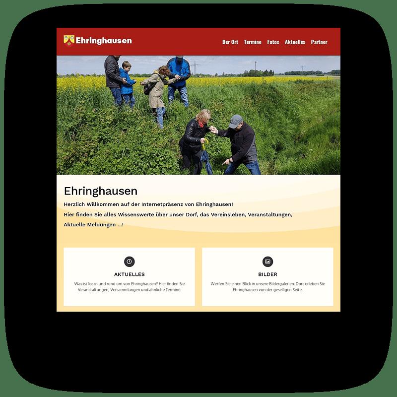 Ehringhausen Vorschaubild Website