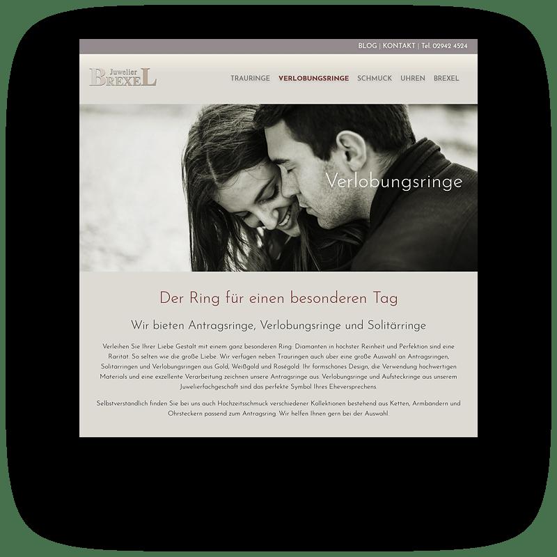 Juwelier Brexel Vorschaubild Website