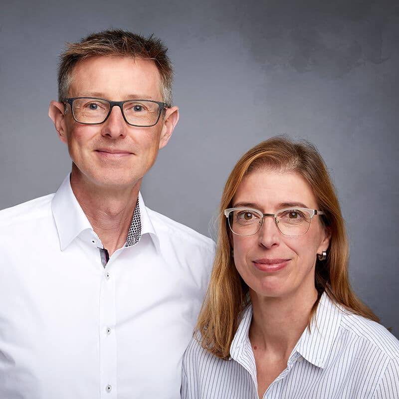 Bernd und Petra Thorwesten - etcetc Werbeagentur Geseke
