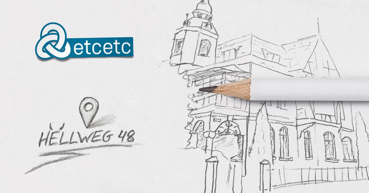 etcetc Werbeagentur Haus Zeichnung