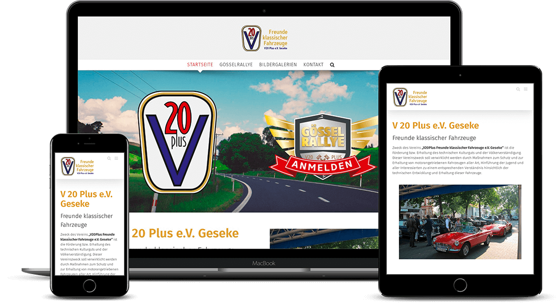 v20 Plus Website