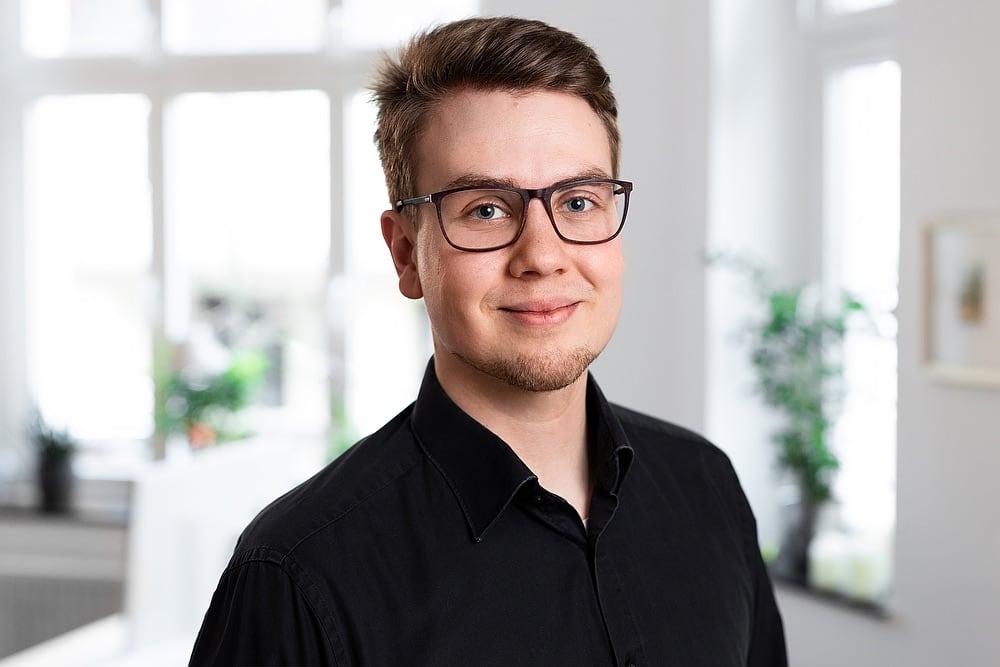 Jonas Müntefering, Fotograf, angehender Webentwickler, Portraitfoto