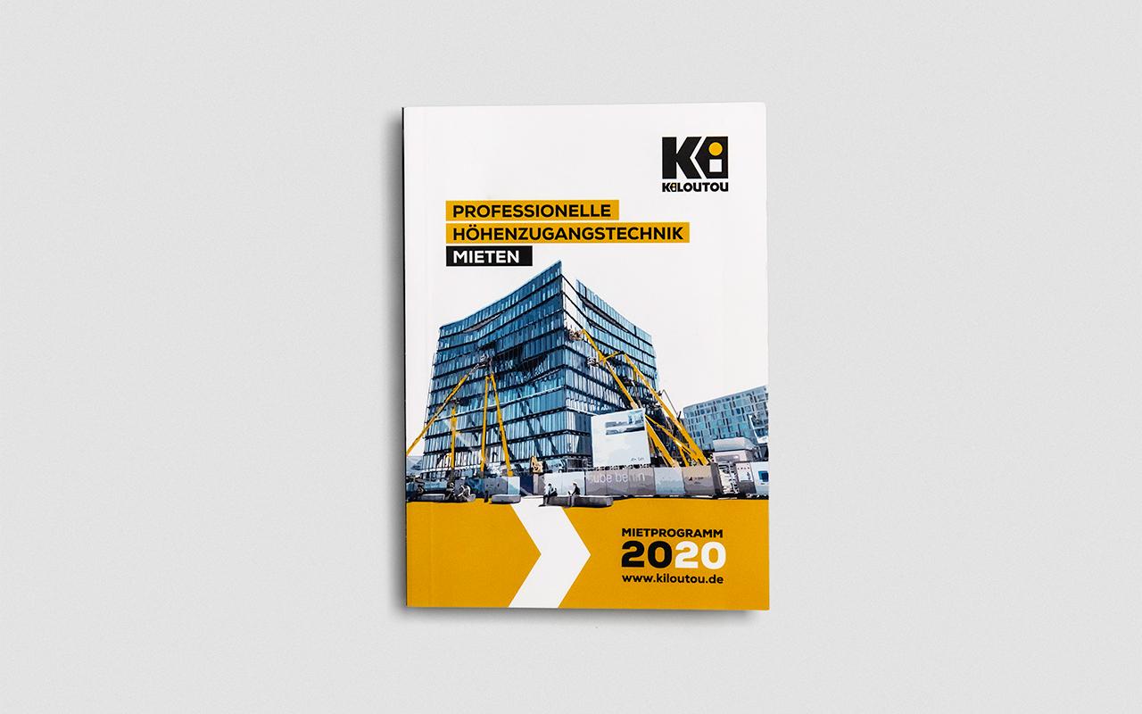KILOUTOU Deutschland Mietkatalog 2020 Titelseite
